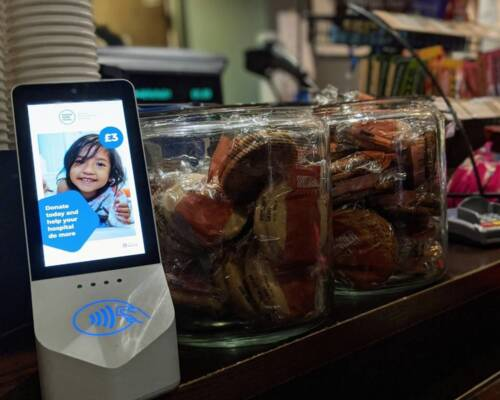 Contactless donation boxes rolled out across the Trust