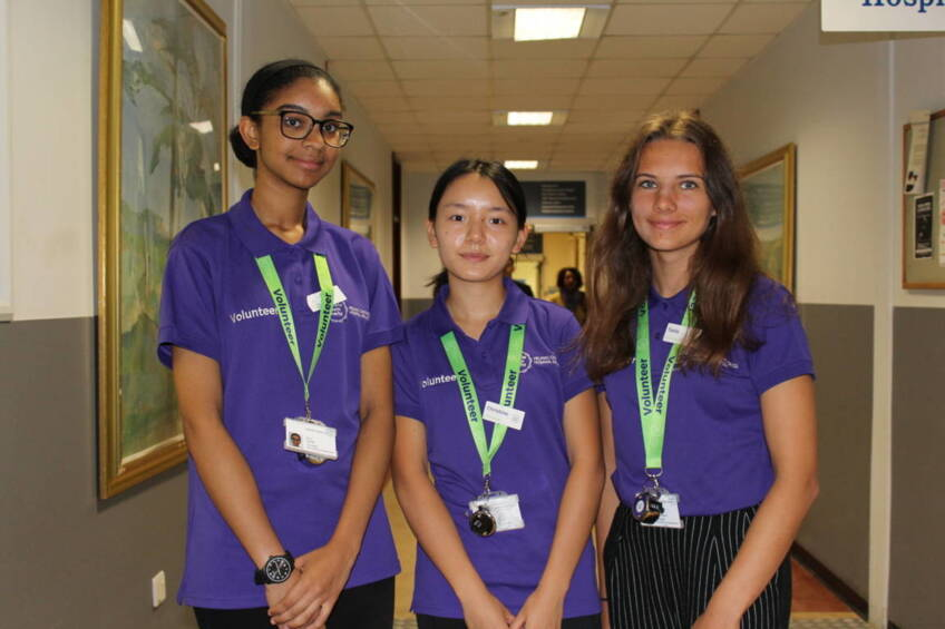 Young people pledge over 2,000 hours to support hospitals
