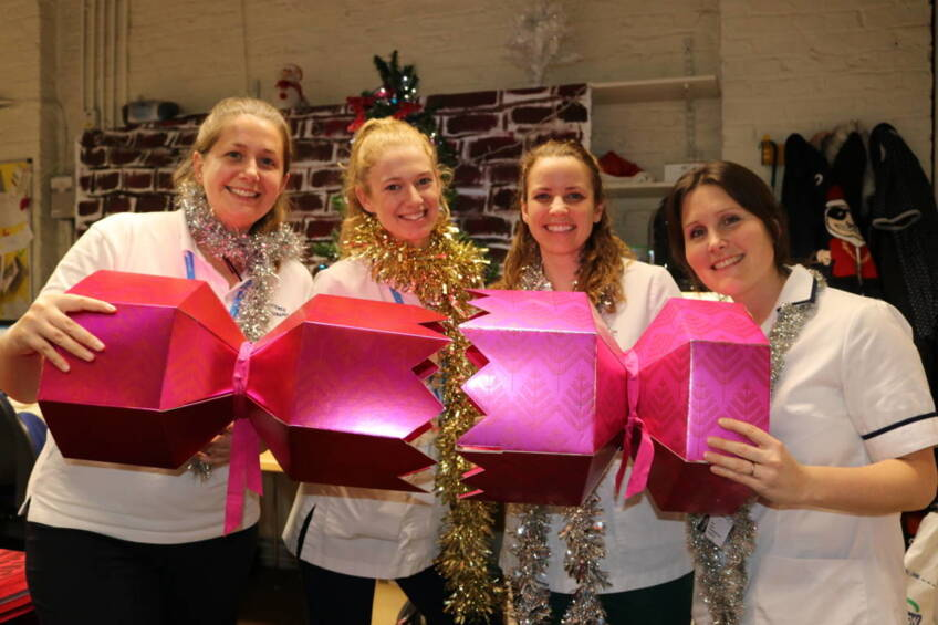 Cracking Christmas Party campaign kicks off the festive season for hospital staff