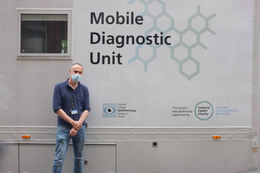 Mobile eye clinic offers a vision of the future