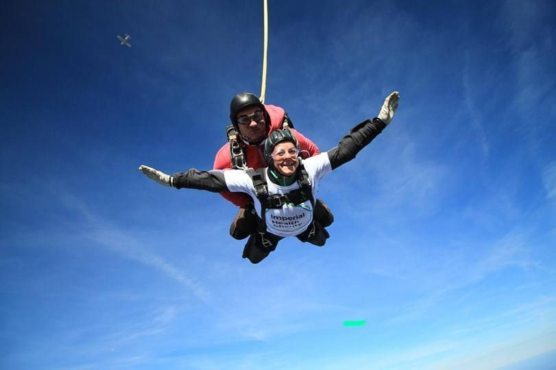 68-year-old skydiver raises £5,000 in memory of granddaughter