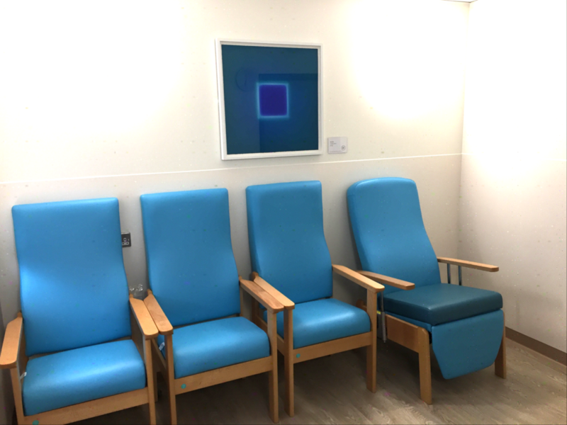 Artwork by Brian Eno comes to Hammersmith Hospital