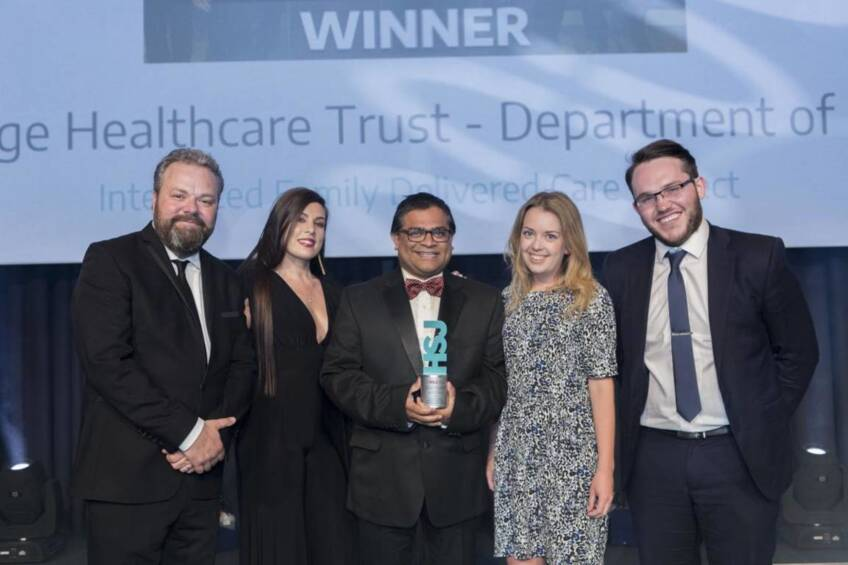 Charity-funded app wins healthcare award