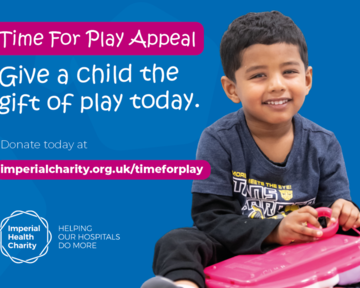 Support our Time For Play Appeal and give a child the gift of play