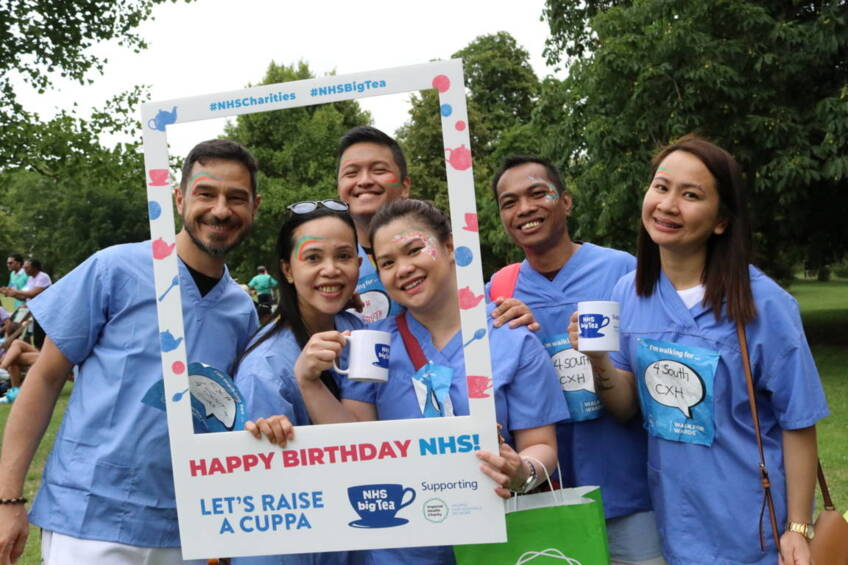 Celebrating the NHS' birthday at our biggest ever Walk for Wards!