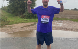 Marathon man hits finish line five...