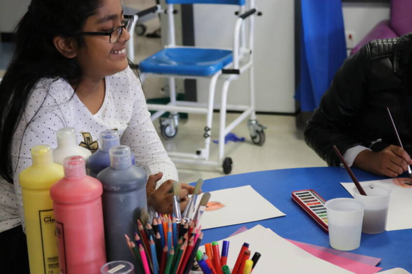 Art therapist to bring colour and creativity to children's ward