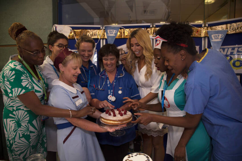 Big 7Tea celebrations across the Trust mark 70 years of the NHS