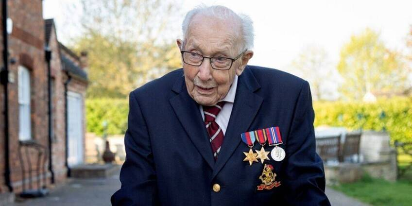 Thank you, Captain Sir Tom Moore