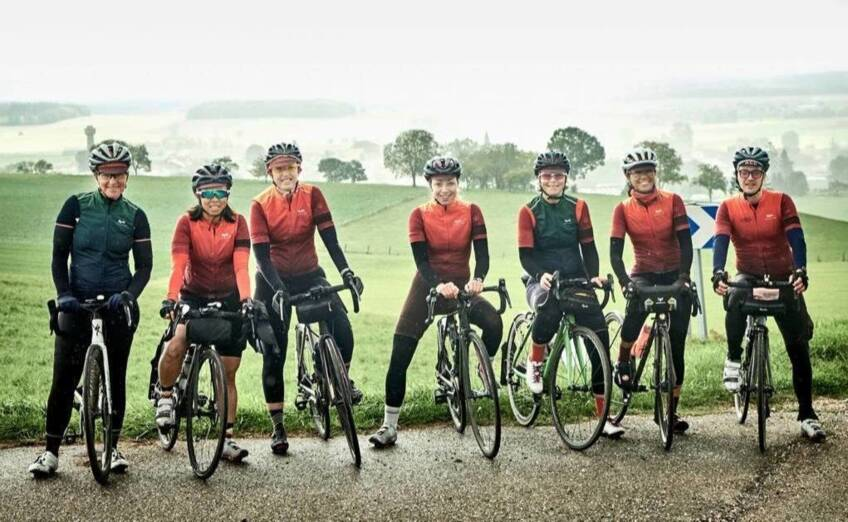 Pedal power: Cyclists taking on 720km ride raise over £65k