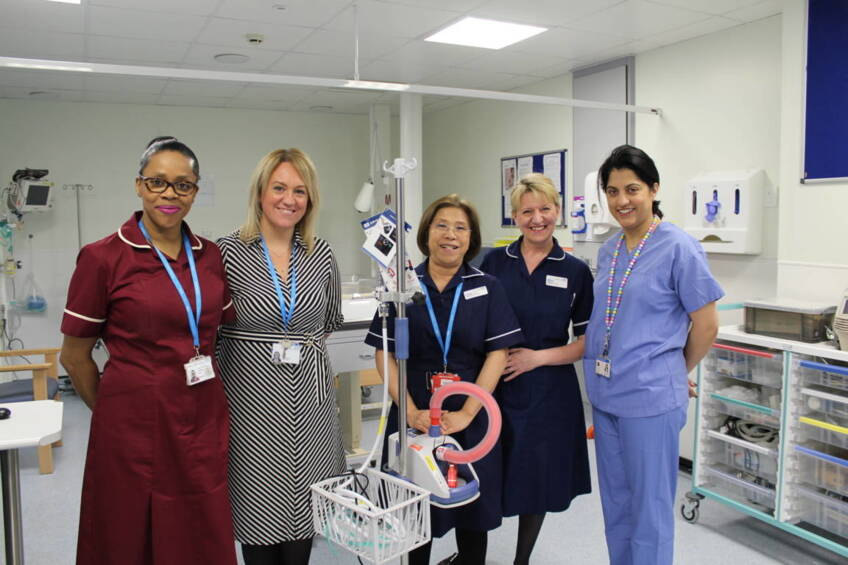 Poppy's Fund delivers breathing support to maternity patients