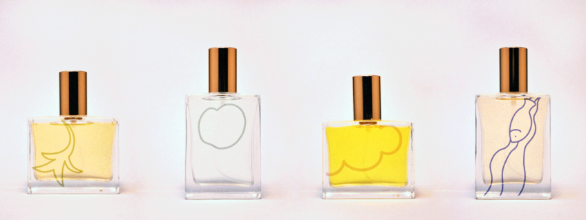 Perfume pop-up 'makes scents' of art collection